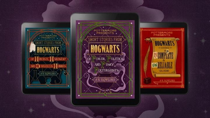J.K. Rowling Mengeluarkan 3 Buku Terbaru Seputar Kisah Harry Potter dalam Format E-book