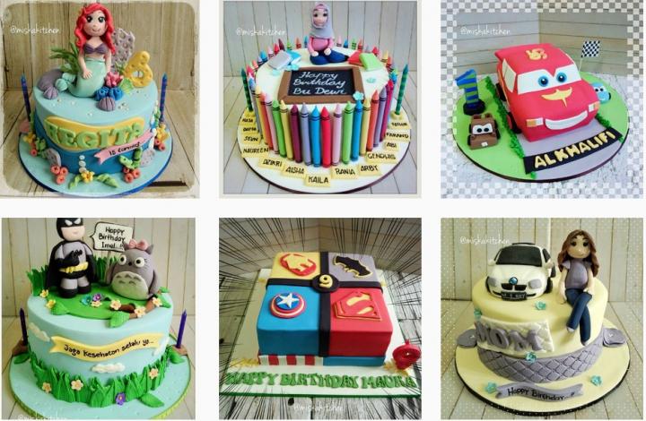 Profesiku: Cake Decorator, Miska Dahlia Wuri