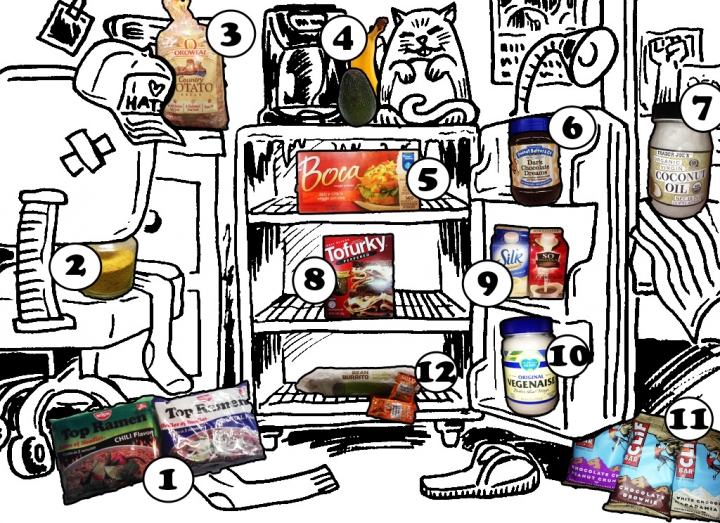 Stok Makanan Befaedah Untuk Anak Kost yang Nggak Jago Masak