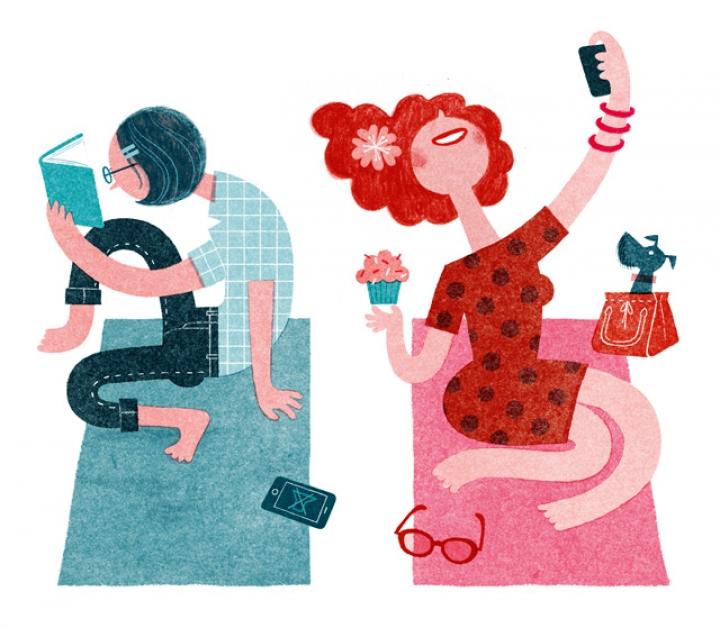 Perbedaaan Kepribadian Introvert dan Ekstrovert dalam Kegiatan Sehari-Hari - Kamu yang Mana, Nih?