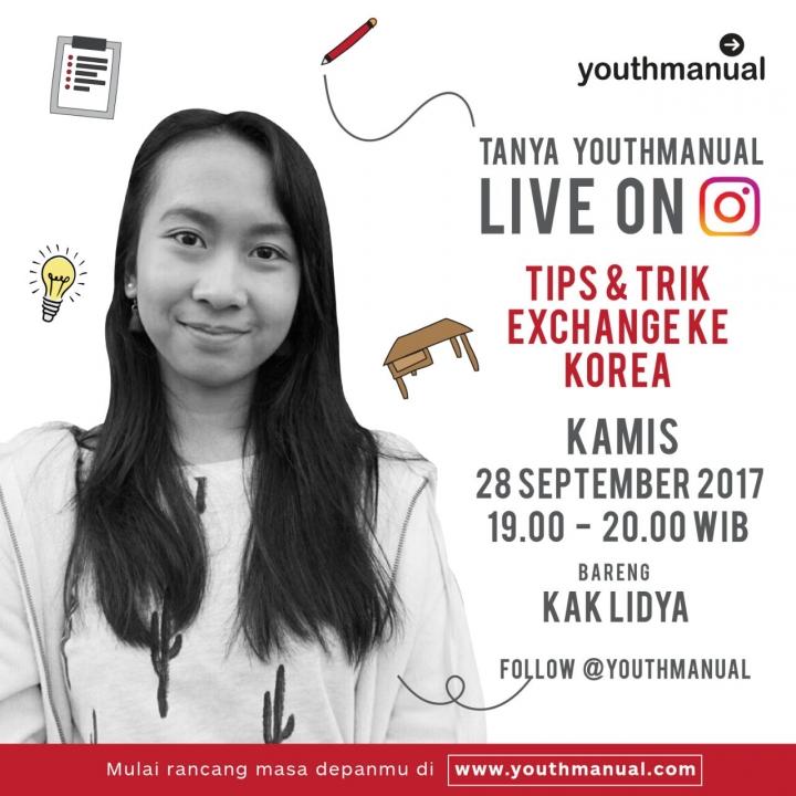 Tanya Youthmanual: Ngobrol Soal Student Exchange ke Korea Bersama Lidya Ayu Astiti
