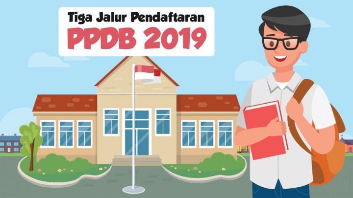 Jalur Pendaftaran Penerimaan Peserta Didik Baru 2019