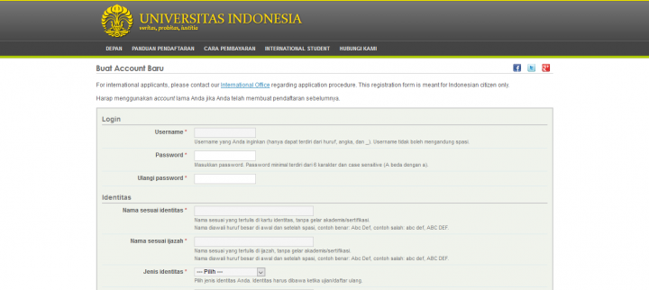 Serba-Serbi Seleksi Mandiri Universitas Indonesia (SIMAK UI) 2019
