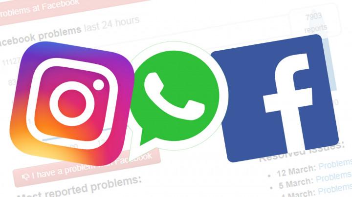"5 Keuntungan yang Akan Kalian Dapatkan Selama Server Instagram dan Whatsapp Sedang ""Down"""