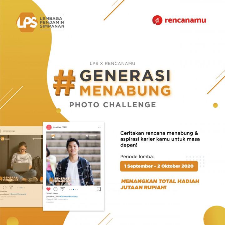 Tip Memenangkan Kompetisi Foto #GenerasiMenabung LPS x Rencanamu