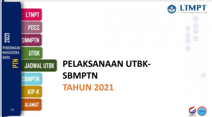 Tanya-Jawab Seputar UTBK dan SBMPTN 2021