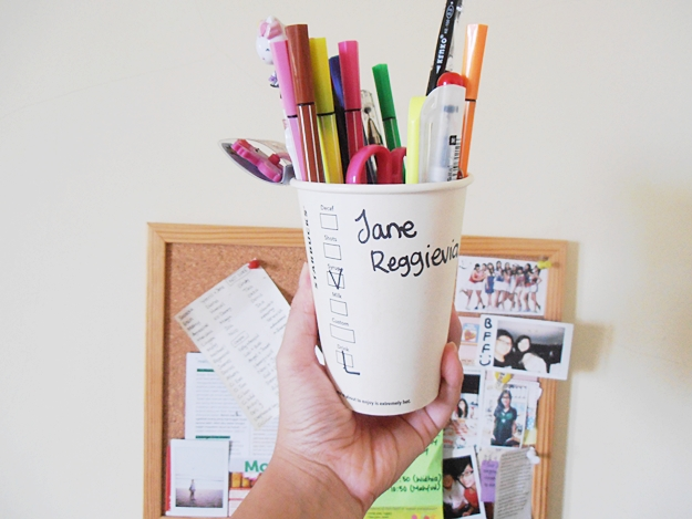 starbucks cup name spell
