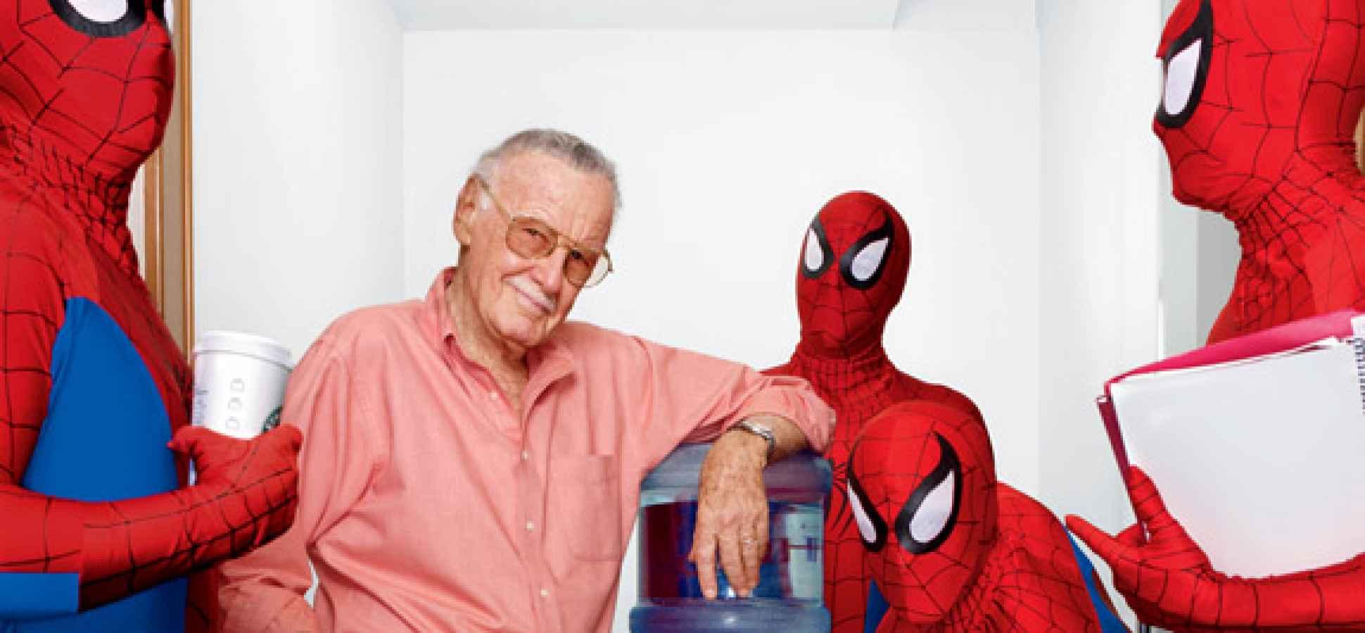 Stan Lee dan Spider-Man