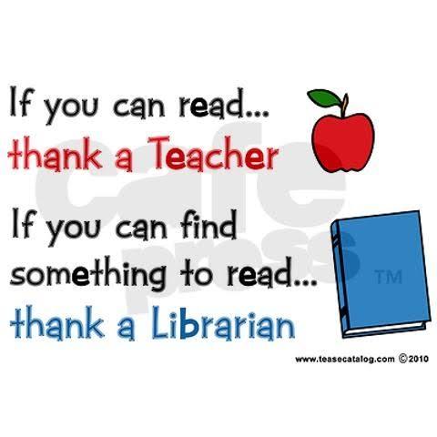 terima kasih untuk para pustakawan