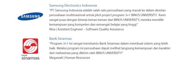 program 3+1 binus university