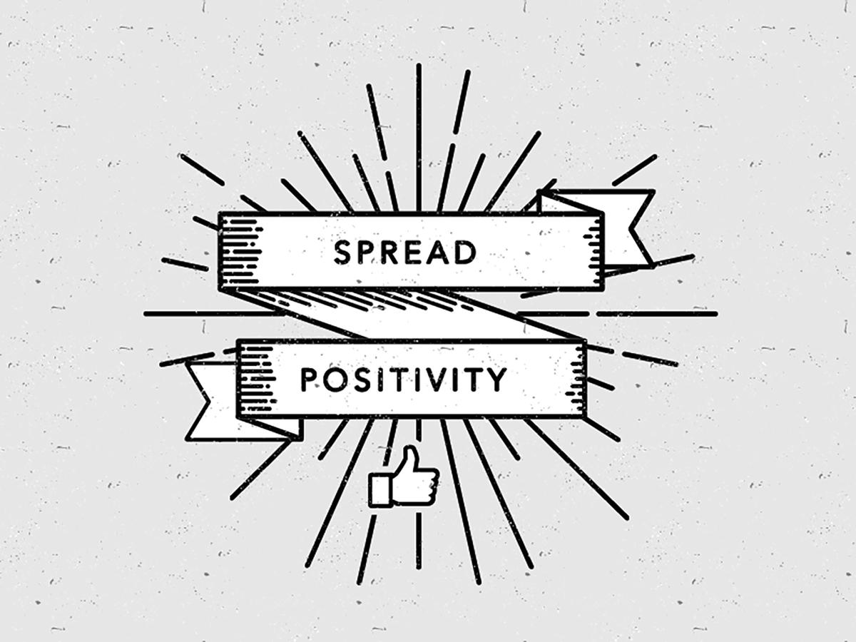 sebar hal positif