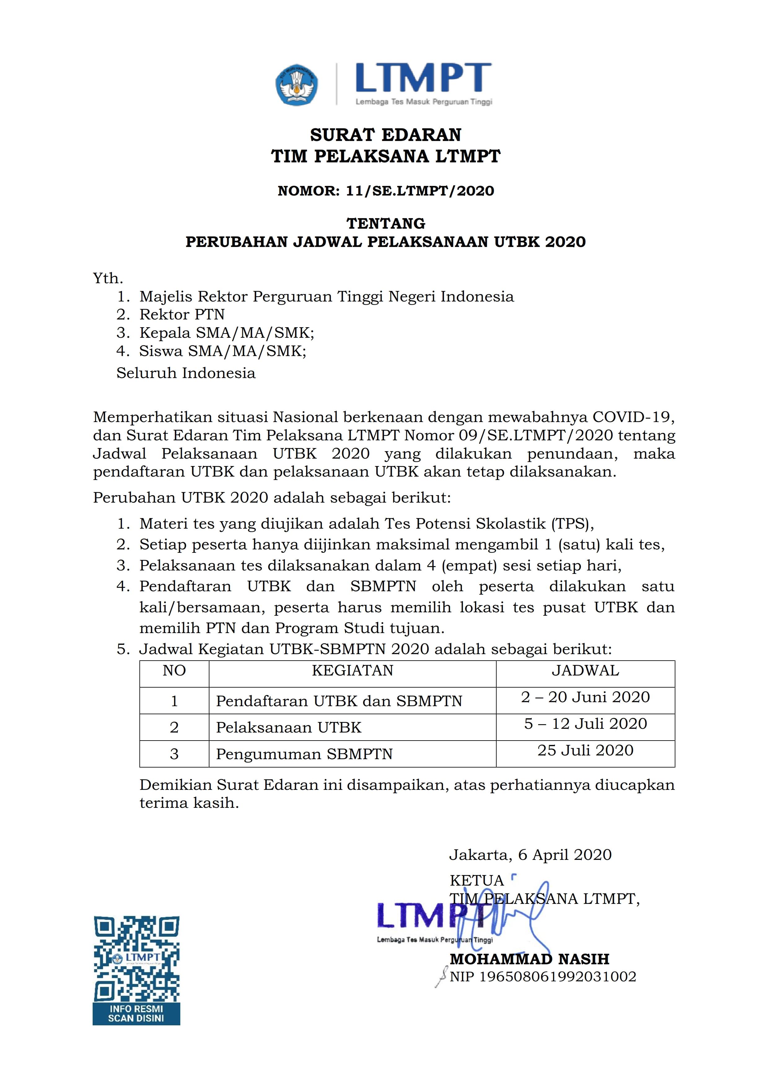 Contoh Soal Utbk 2020 Resmi Dari Ltmpt